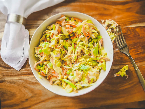 11 Tasty Recipes for a Fathers Day Cookout: Coconut Coleslaw
