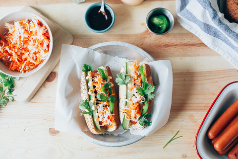 11 Tasty Recipes for a Father's Day Cookout: Banh Mi Hotdog