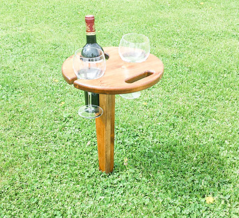 Memorial Day Essentials: Portable Folding Wine Table