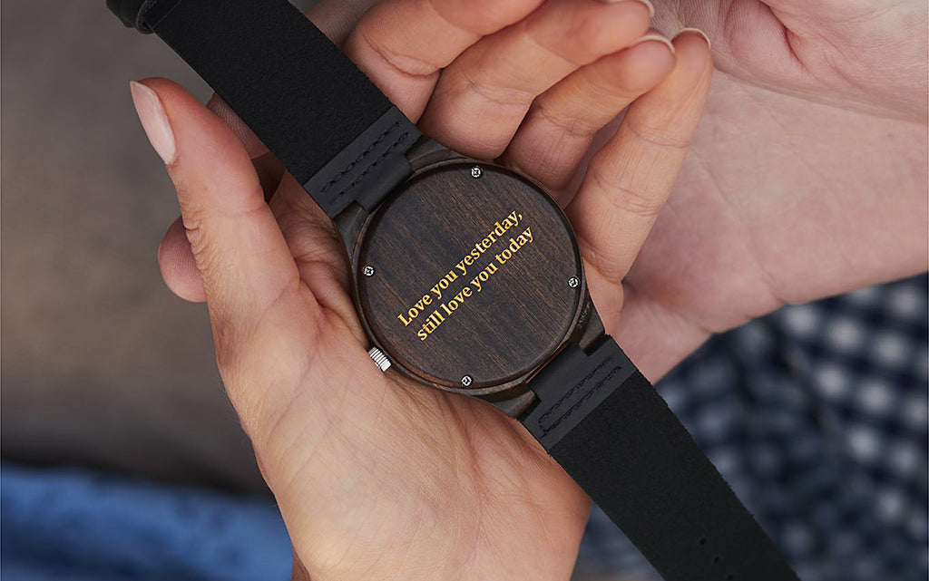 Engraved Treehut Wooden Watches