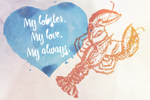 My Lobster My Love My Always