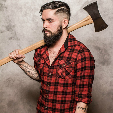 Treehut Wood Watches | lumbersexual fashion, outfit, manbun, accessories, design, flannel, tattoo, metrosexual, lumberjack, hiking boots, beanie