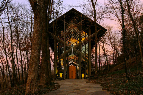 thorncrown chapel, outdoor wedding venues in the US