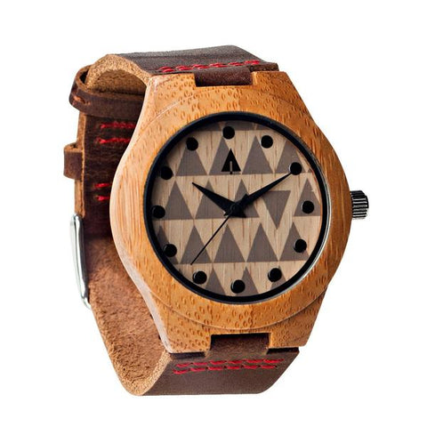 Tree Hut Wooden Watch - Mod