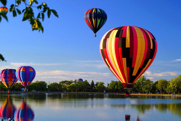 8 must-do adventure spots around the world Albuquerque hot air balloon ride