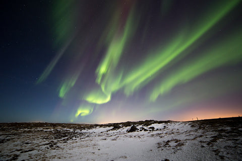 The Northern Lights in Iceland blogpost most desirable destinations: winter travels treehut co wooden watches made in san francisco california
