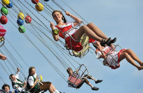 Oktoberfest surprising facts there's rides