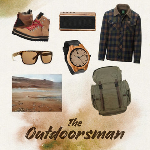 the outdoorsmen treehut gift ideas for the outdoor adventurer handmade wooden watches from san francisco california