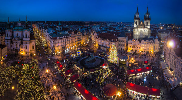 Prague, Czech Republic Christmas Market from Treehut blog post