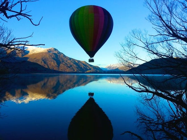 Queenstown, New Zealand  hot air balloon rides