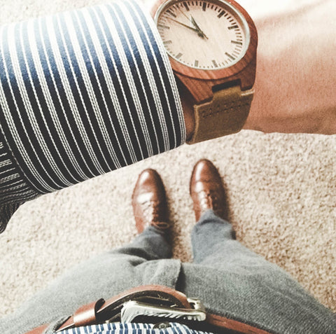 Tan Leather Watch Bands are Ideal for Business Casual Outfits
