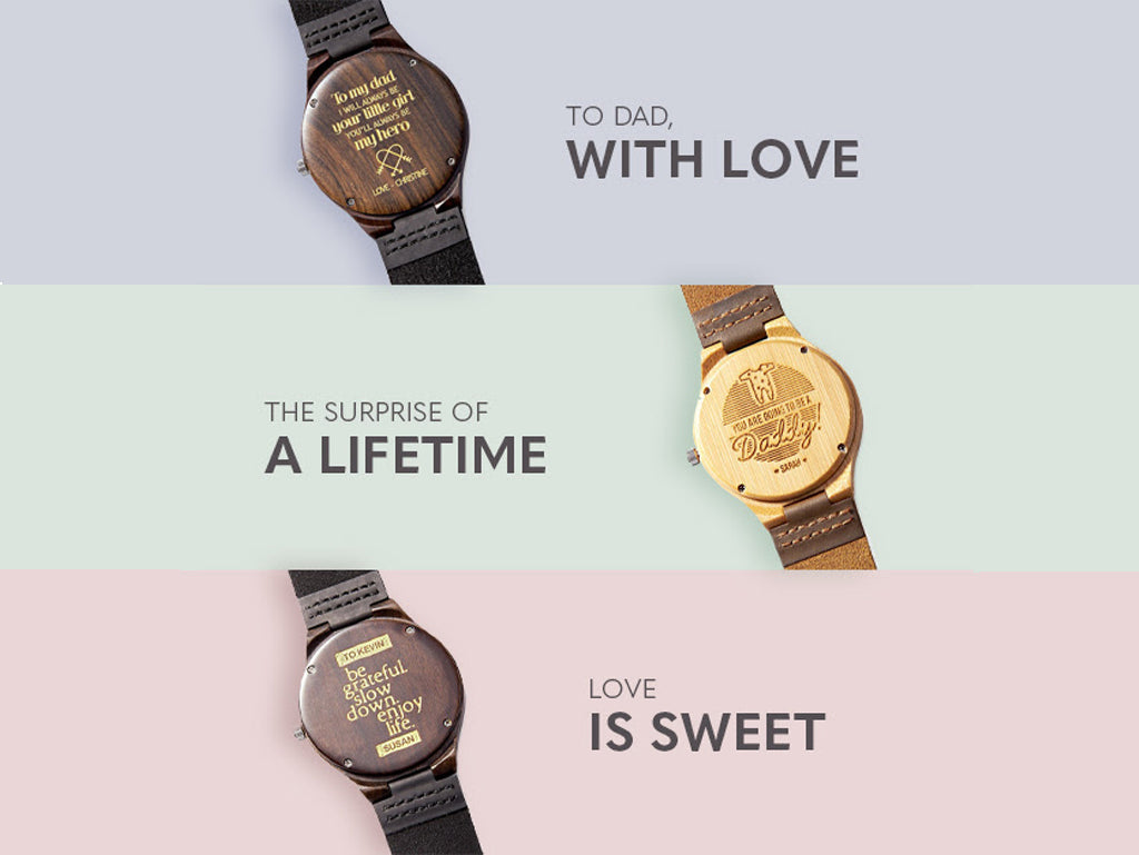 Customized Watches For Dad
