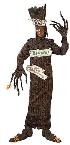 tree costume for bay to breakers