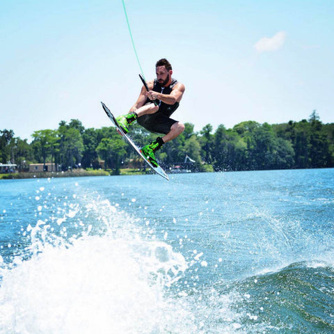 wakeboarding at clear lake