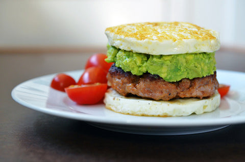 breakfast burger paleo diet breakfast recipes quick and healthy | content by Tree Hut Co.