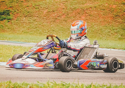 8 fun things to do with dad on father's day | gokart racer driving on racecar track |