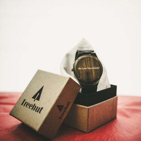 holiday gift guide for your lover, custom engravings treehut wooden accessories