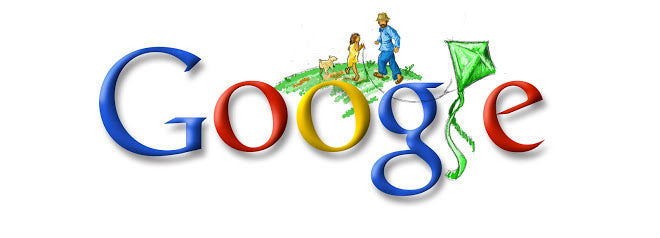 Father's Day Worldwide 2008 Google Doodle