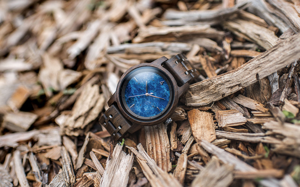 Horizon Ebony Blue Marble