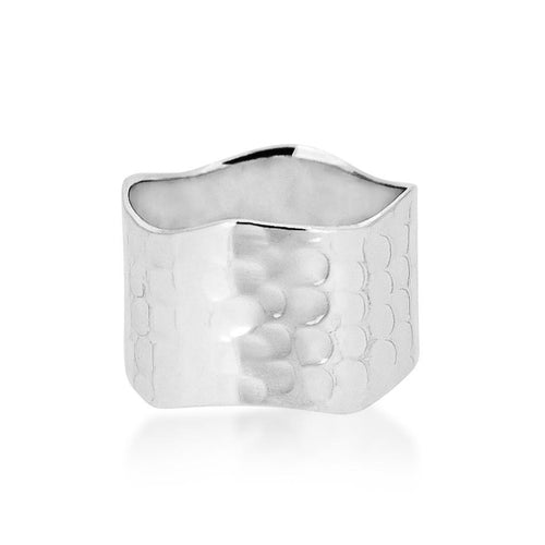 All Silver Sterling 925 ring