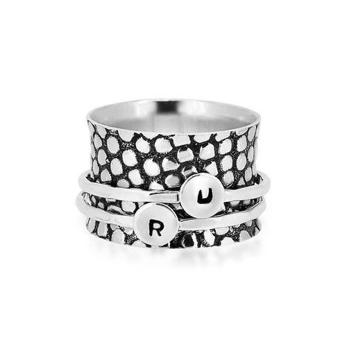Daily Mantra Spinner Ring