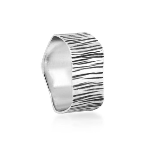 Oakwood Tree handmade Silver 925 Ring