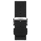 20mm Black Matte Leather Band