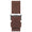 20mm Brown Matte Leather Band