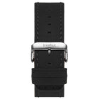 22mm Black Leather Band