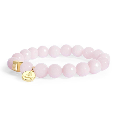Luna April Rose Quartz Bracelet