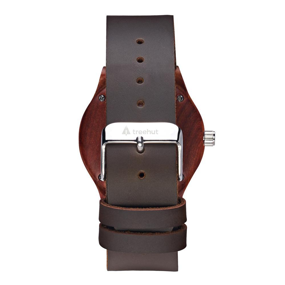 Treehut Classic Rosewood Rouge Small Watch