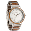 Treehut Bay Walnut Silver men's watch