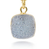 Reina Blue Druzy Necklace