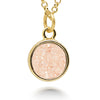 Geo Champagne Druzy Necklace