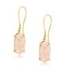 Arya Champagne Druzy Earrings