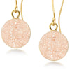 Terra Champagne Druzy Earrings