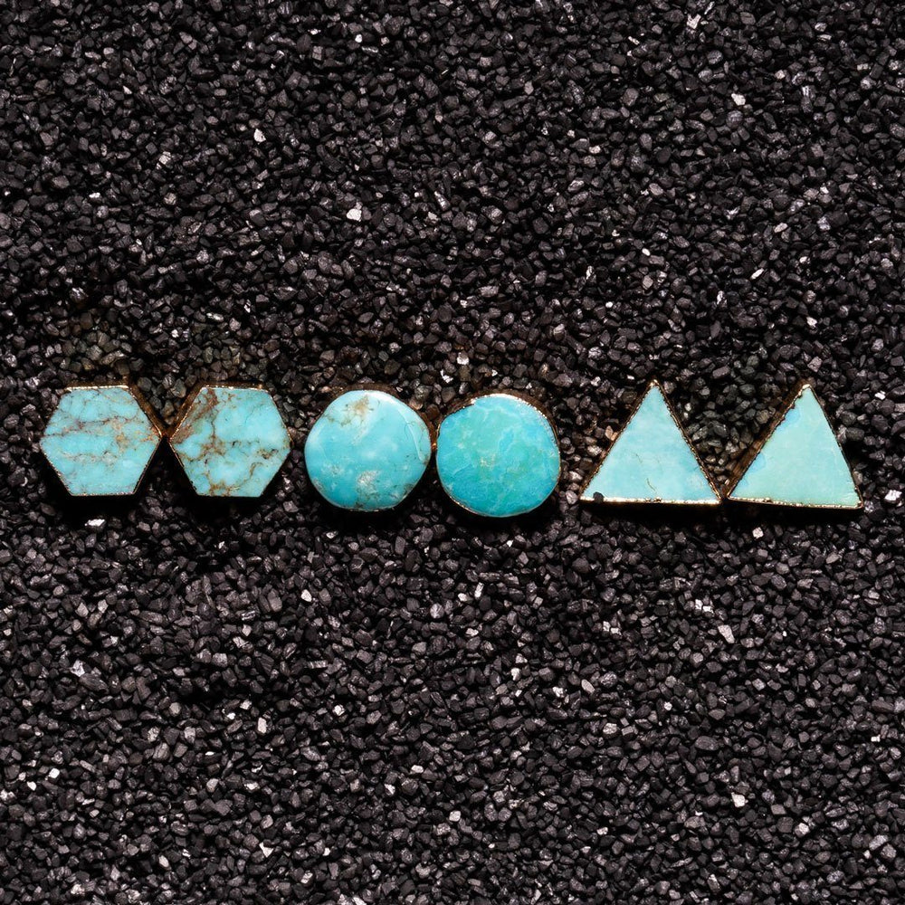 Turquoise Native Earring Set