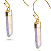 Rainbow Quartz Drop Earrings