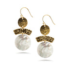 Lima Shell Drop Earrings