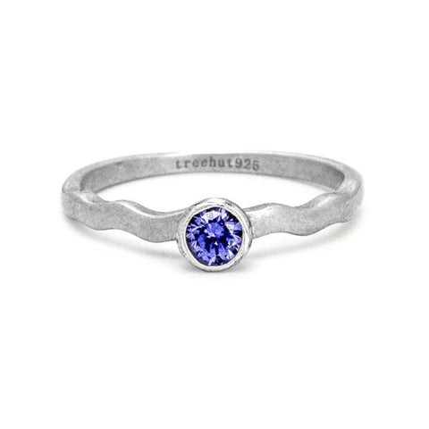 December Tanzanite Birthstone Ring