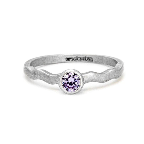 June Alexandrite Birthstone Ring