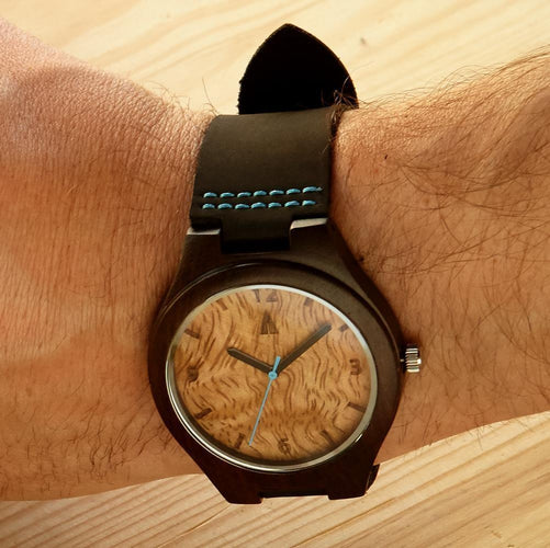 Ebony Watch // Mango Wood