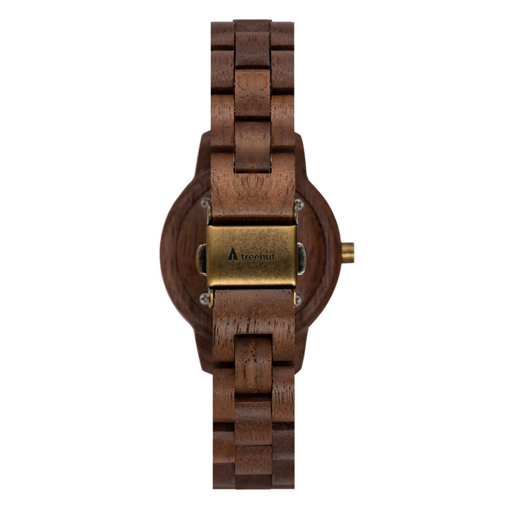 Treehut Women Odyssey Walnut Sandstone watch