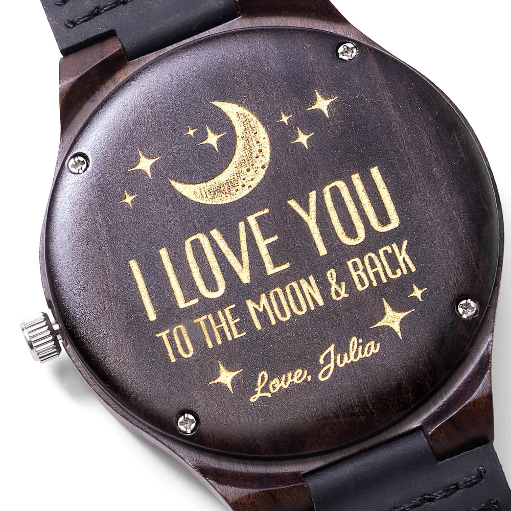 HUSBAND/BOYFRIEND - I love you to the moon and back