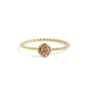 Citrine Stacking Ring Set