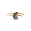 Azurite Stacking Ring Set