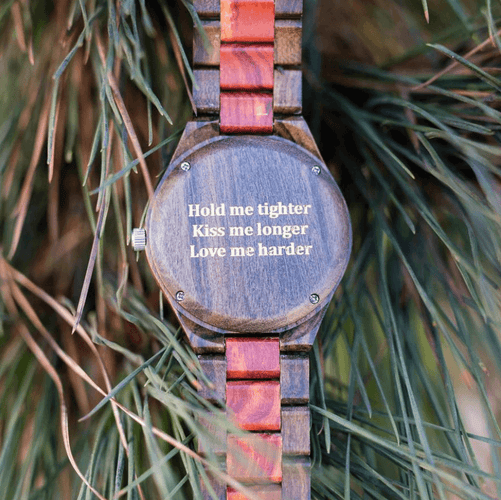 All Wood Watch // Redwood + Ebony 04