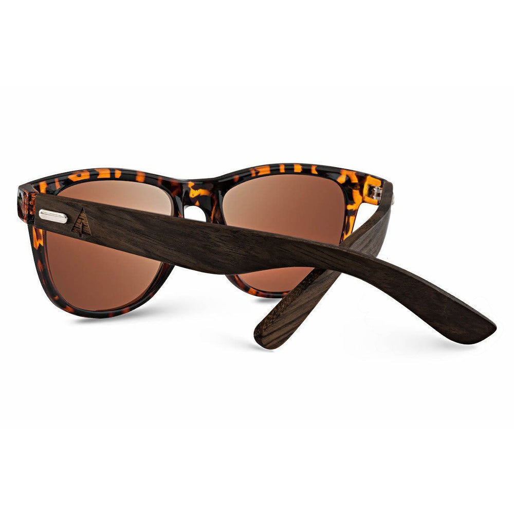 Wooden Sunglasses // Bali 63 Black