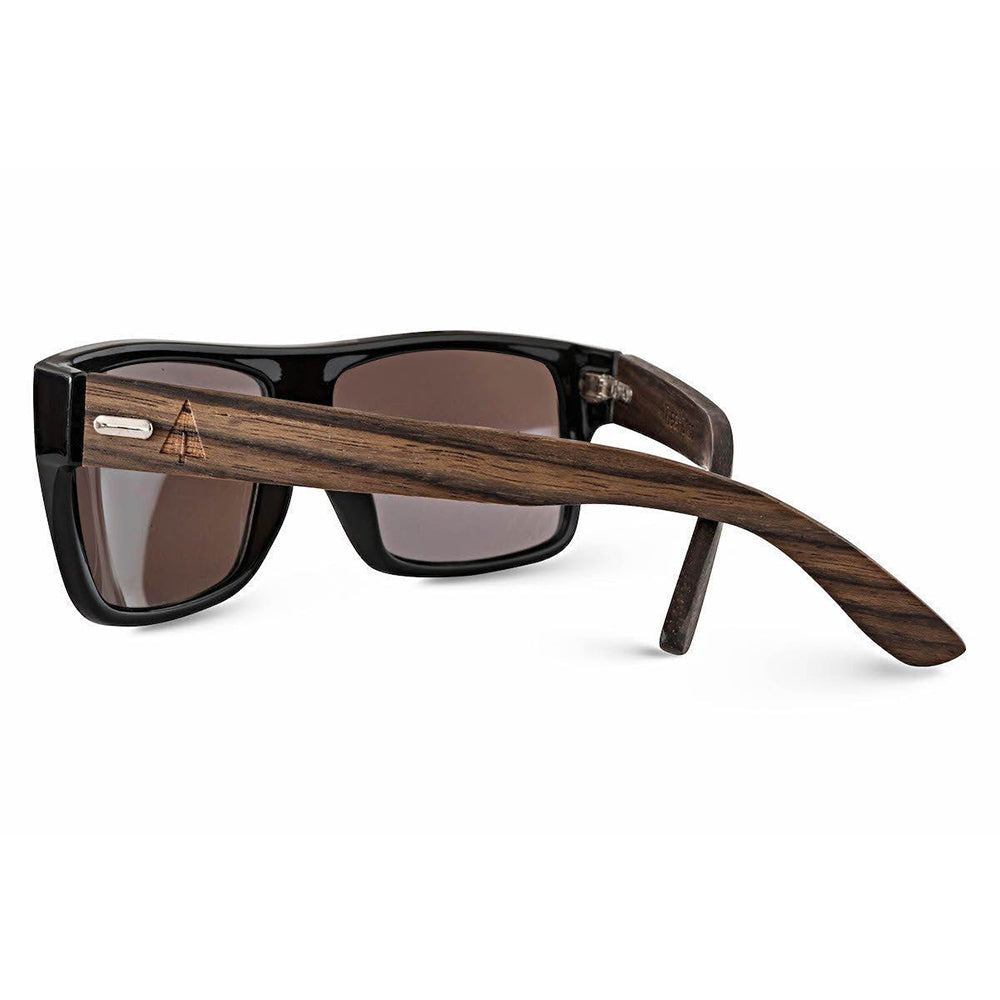 Wooden Sunglasses // Carlton 44 Black