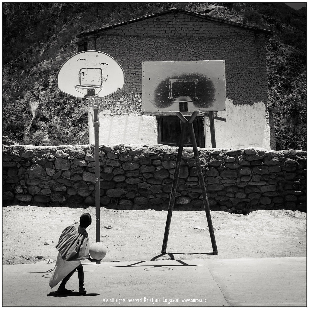 Tamahumara Basketball field, Munearachi, Mexico, Photography, Kristjan Logason - Hraun- Art and design